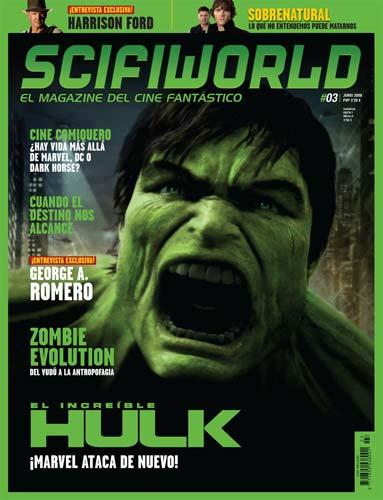 Nuevo número de SciFiWorld, El Magazine del Cine Fantástico