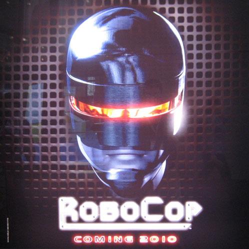 Teaser póster de RoboCop