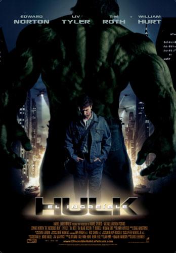 Póster español de El Increíble Hulk