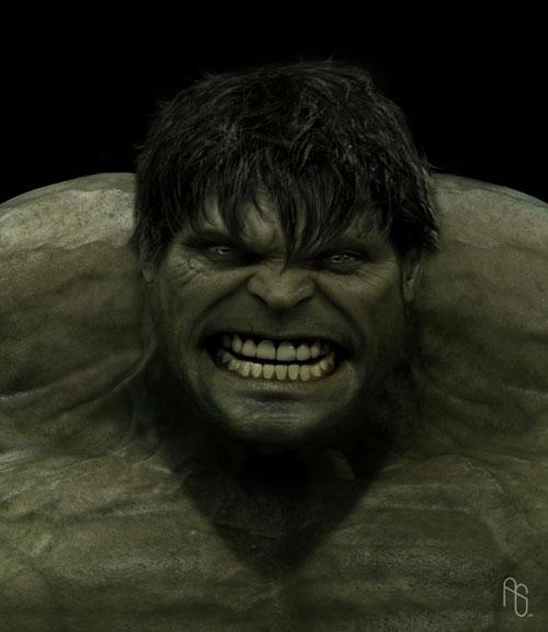 Hulk final aprovado por Universal Pictures para su uso en el film
