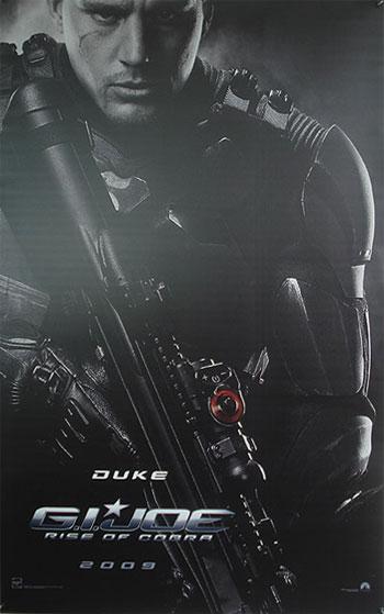 Primer teaser póster de G.I. Joe: Rise of Cobra
