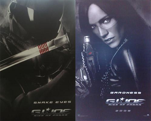 Nuevos carteles de G.I. Joe: Rise of Cobra