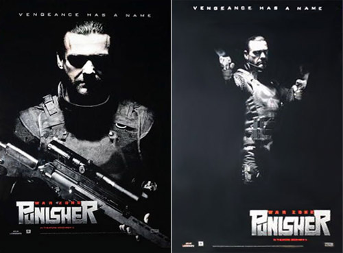 Carteles de Punisher: War Zone