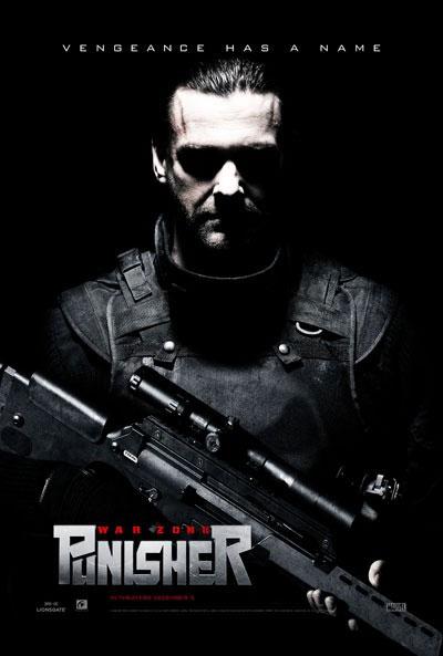 Nuevo cartel de Punisher: War Zone