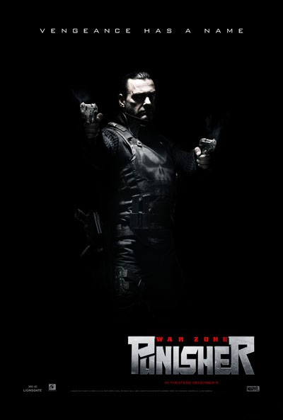 Nuevo cartel de Punisher: War Zone