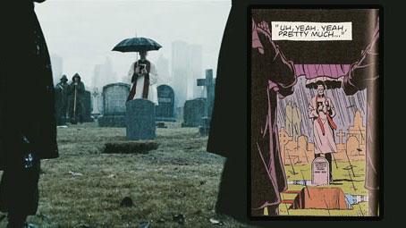 """De la viñeta al celuloide"". Watchmen"