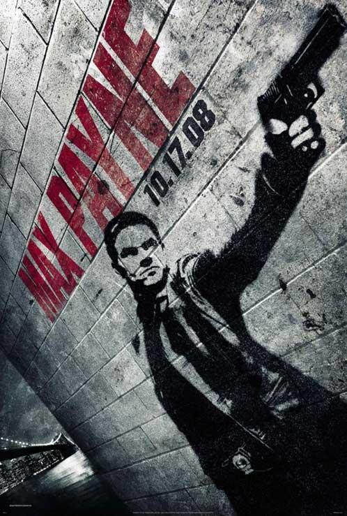 Nuevo cartel de Max Payne para la Comic-Con 2008