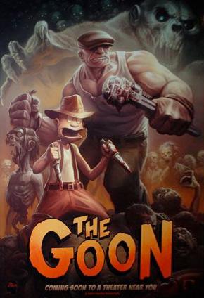Teaser póster de The Goon