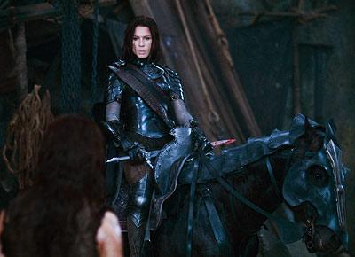 Rhona Mitra en Underworld: Rise of the Lycans