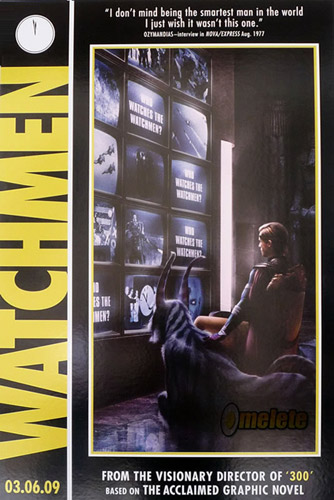 Un nuevo póster de Watchmen de Zack Snyder exclusivo de la Comic-Con: Ozymandias