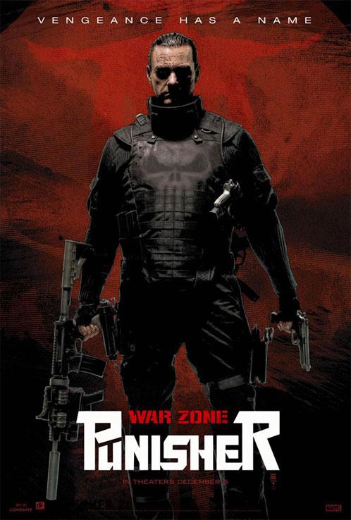 Nuevo cartel de Punisher: War Zone para la Comic-Con de San Diego