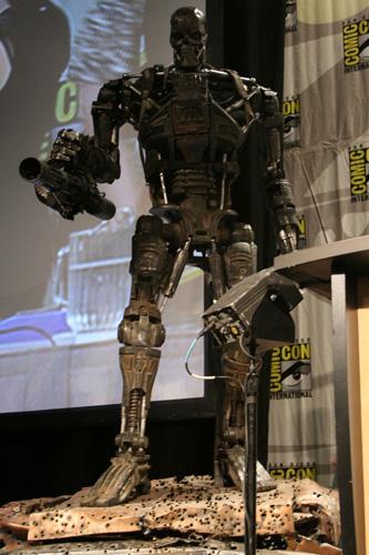 T-600 mostrado en la Comic-Con