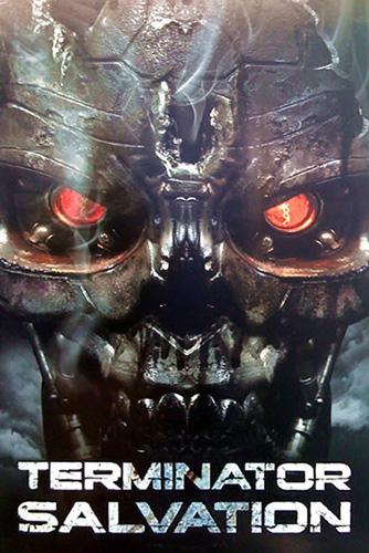 Póster de Terminator Salvation para la Comic-Con 2008