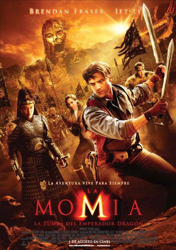 Póster de La Momia: La Tumba del Emperador Dragón