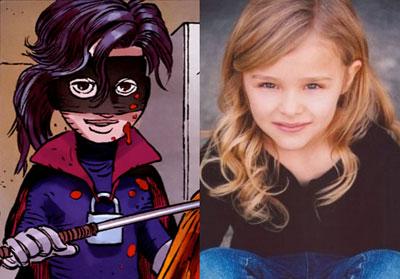 Hit Girl (Chloe Moretz), un arma letal de 11 años