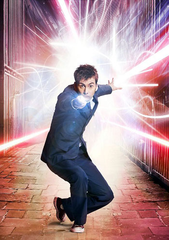 David Tennant como el Doctor Who!