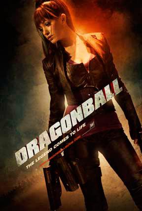Póster de Dragonball con Bulma de protagonista