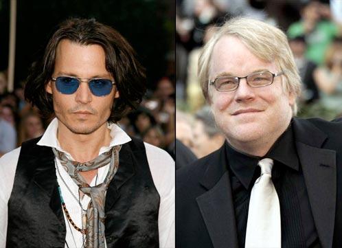 Johnny Depp y Philip Sheymour Hoffman de nuevo al candelero