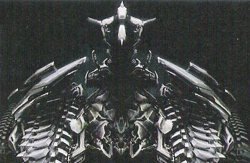 Supuesto diseño de Megatrón
