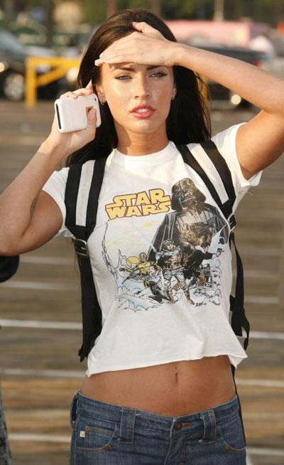 Megan Fox es una fan
