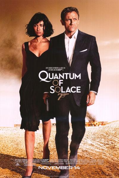 Póster final de Quantum of Solace
