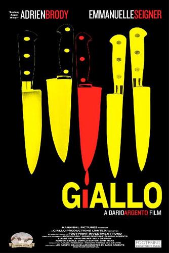 Teaser poster de Giallo de Dario Argento