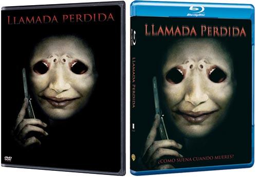 Ediciones en DVD y Blu-Ray de Llamada Perdida