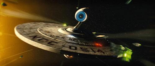 La Kelvin, una de las naves de Star Trek