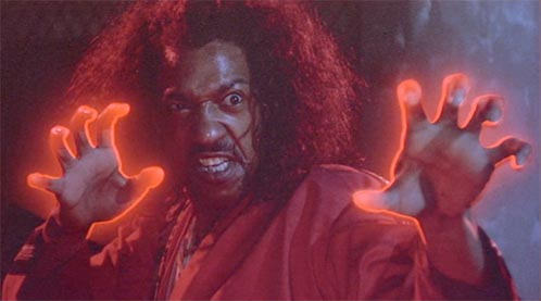 Sho'nuff (Julius Carry), el Shogun de Harlem... brutal