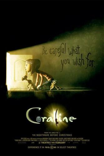 Nuevo póster de Coraline