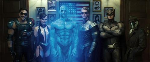 Los Watchmen al completo