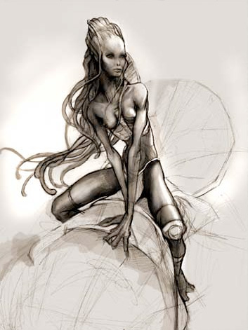 Diseño Na'vi de Jonay Bacallado para Avatar de James Cameron