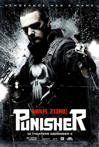 Nuevo cartel molón de Punisher: War Zone