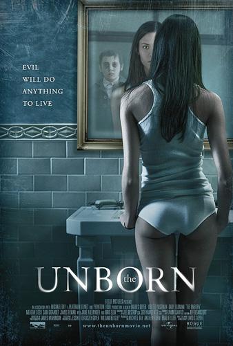 Cartel de The Unborn... ¿y tiene que dar miedo?