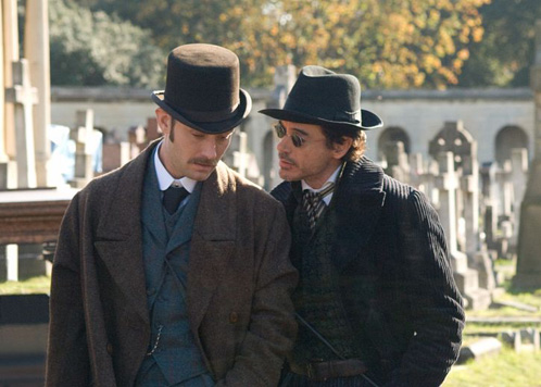 ¿Watson y Holmes maquinando sobre Lord Blackwood?