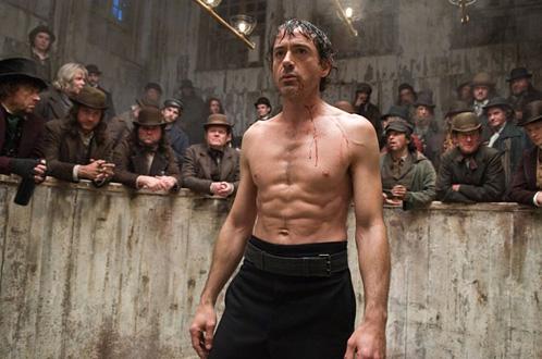 A Sherlock Holmes le gustan las peleas clandestinas... y participar en ellas!