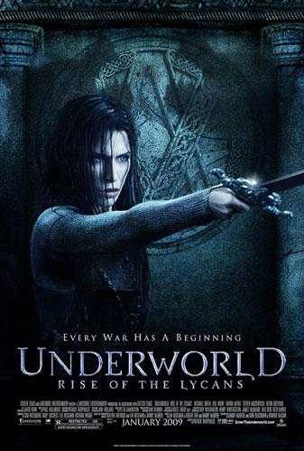 Nuevo cartel de Underworld: Rise of the Lycans