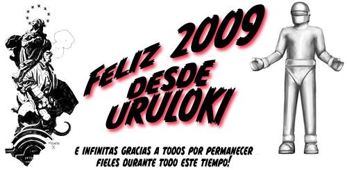 Felices fiestas y próspero 2009 desde Uruloki