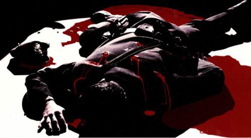 Negro, rojo y blanco... los colores en The Spirit