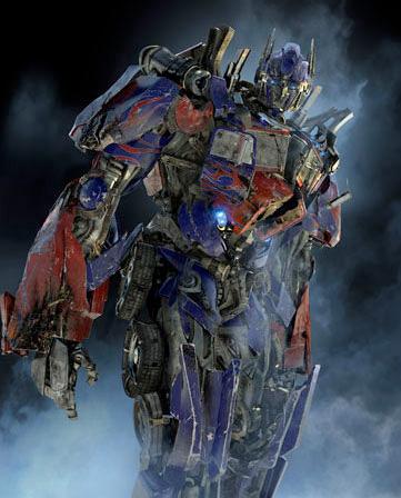 Optimus Prime un poco mellado
