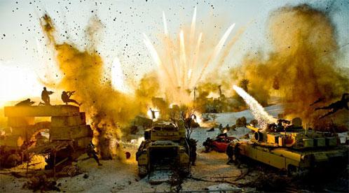 Factura Michael Bay, explosiones por doquier!