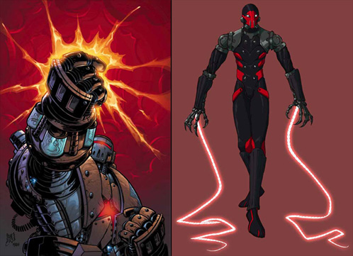 ¿Crimson Dynamo o Whiplash?