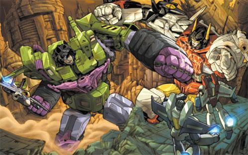 Devastator vs. Superion, ¿quién da más?