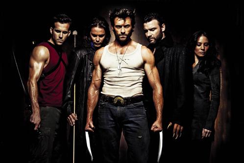 Deadpool, Gambit, Wolverine, Sabretooth y Silver Fox
