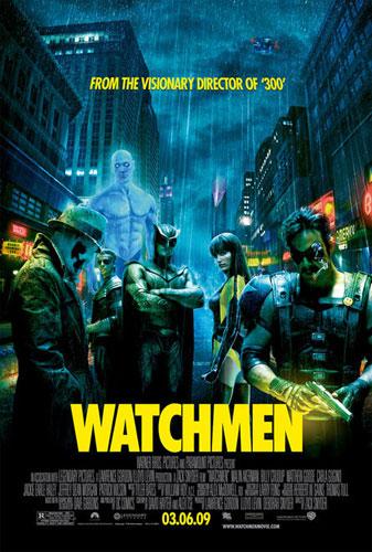 Cartel definitivo de Watchmen