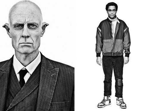 Fotografías del libro Watchmen Portraits