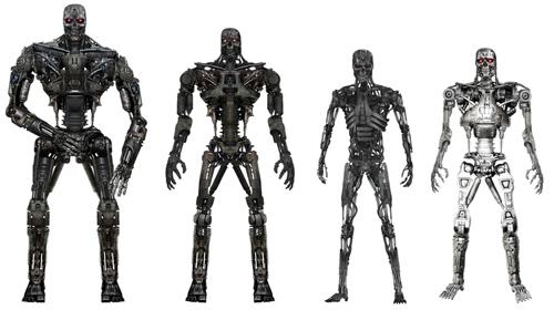 Arte conceptual de Terminator Salvation: modelos de terminator (spoiler)