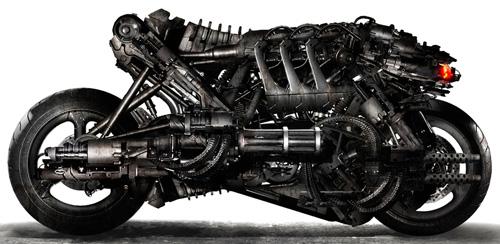 Arte conceptual de Terminator Salvation: mototerminator