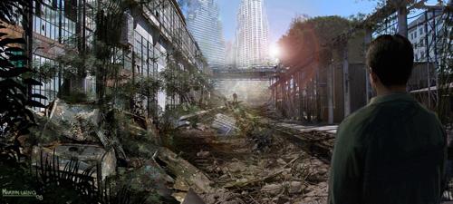 Arte conceptual de Terminator Salvation: el futuro