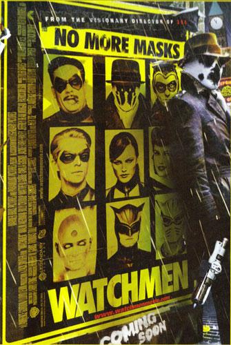 Otro póster más de Wacthmen